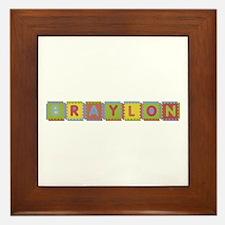 Braylon Foam Squares Framed Tile