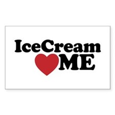 Ice Cream Loves Me Decal
