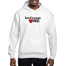 Ice Cream Loves Me Hoodie