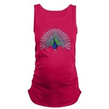 Peacock Maternity Tank Top
