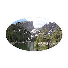 Dream Lake, Colorado Oval Car Magnet