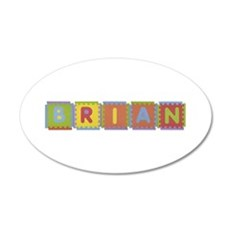 Brian Foam Squares Wall Decal
