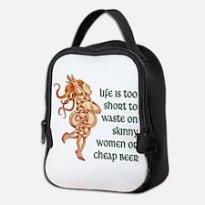 Goddess Motto Neoprene Lunch Bag