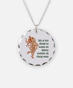 Goddess Motto Necklace