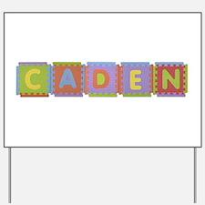 Caden Foam Squares Yard Sign