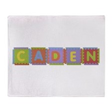 Caden Foam Squares Throw Blanket