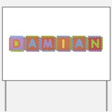 Damian Foam Squares Yard Sign