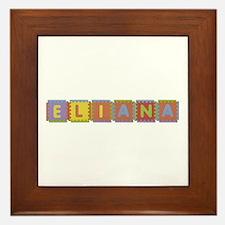 Eliana Foam Squares Framed Tile