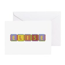 Elise Foam Squares Greeting Card 20 Pack
