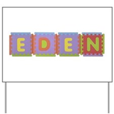 Eden Foam Squares Yard Sign