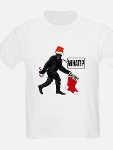 WHAT! Bigfoot - Big Stocking! Kids T-Shirt