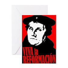 Viva la Reformacion! Greeting Card