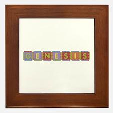 Genesis Foam Squares Framed Tile