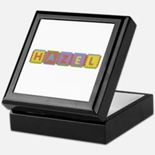 Hazel Foam Squares Keepsake Box
