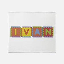 Ivan Foam Squares Throw Blanket