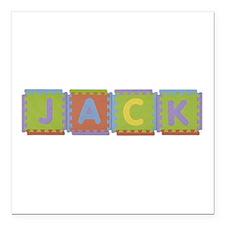Jack Foam Squares Square Car Magnet