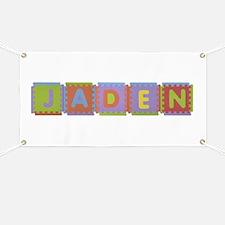 Jaden Foam Squares Banner