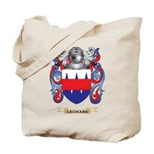 Leonard Coat of Arms - Family Crest Tote Bag