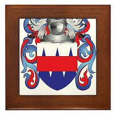 Leonard Coat of Arms - Family Crest Framed Tile