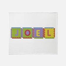 Joel Foam Squares Throw Blanket
