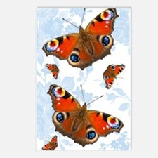 Peacock Butterfly Postcards (Package of 8)
