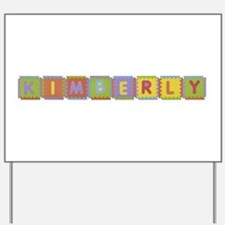 Kimberly Foam Squares Yard Sign