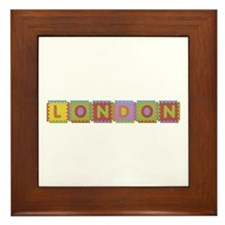 London Foam Squares Framed Tile