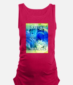 Expect Miracles Art Maternity Tank Top
