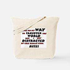 World Domination Tote Bag