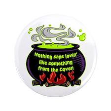 """Lovin Coven 3.5"""" Button"""