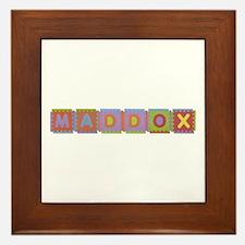 Maddox Foam Squares Framed Tile