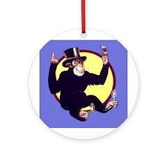 El Mono Ornament (Round)