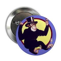 "El Mono 2.25"" Button (100 pack)"