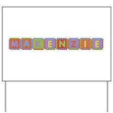 Makenzie Foam Squares Yard Sign