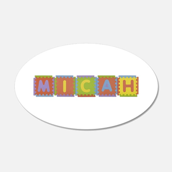 Micah Foam Squares Wall Decal