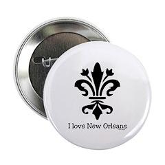I Love New Orleans Fleur 2.25