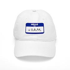 Hello I'm a G.A.M. Baseball Cap