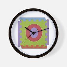 O Foam Squares Wall Clock