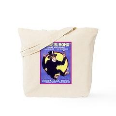 El Mono Tote Bag