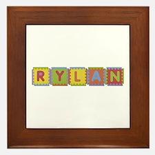 Rylan Foam Squares Framed Tile