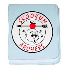 Skookum Logo baby blanket