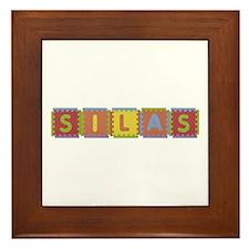 Silas Foam Squares Framed Tile