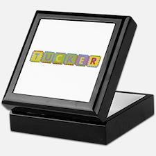 Tucker Foam Squares Keepsake Box