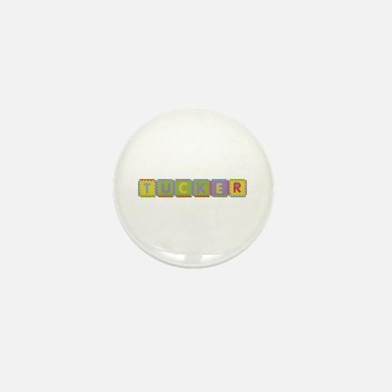 Tucker Foam Squares Mini Button