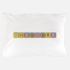 Theodore Foam Squares Pillow Case