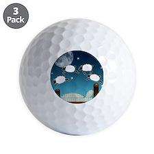 Bed Sky Counting Sheep at Night Golf Ball