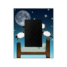 Bed Sky Counting Sheep at Night Picture Frame