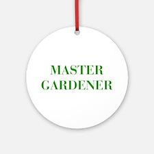 MASTER-GARDENER-BOD-GREEN Ornament (Round)