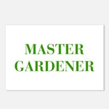 MASTER-GARDENER-BOD-GREEN Postcards (Package of 8)