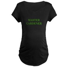 MASTER-GARDENER-BOD-GREEN Maternity T-Shirt